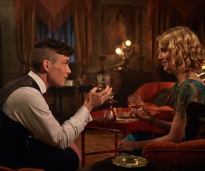 peaky blinders, tommy shelby, and grace burgess image