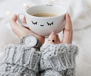coffee, cup, and rings image