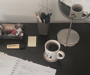 brown, coffee, and college image