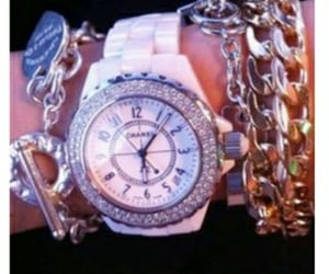 bling, jewelry, and chanel image