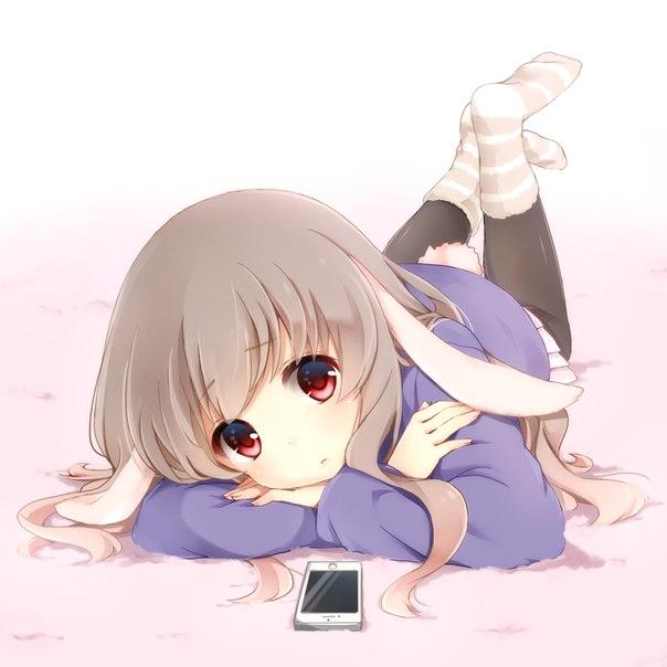anime, grey hair, and long hair image