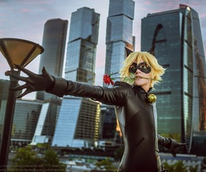Chat Noir, cosplay, and romantix image