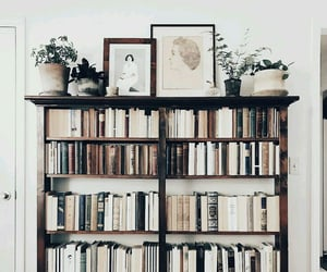 book, home, and decor image