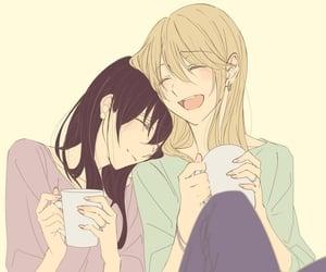 anime, couple, and yuri image