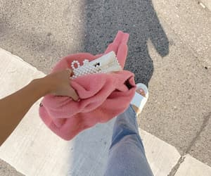 pink, sandals, and walking image