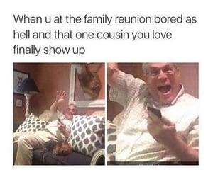 cousin, fun, and humor image