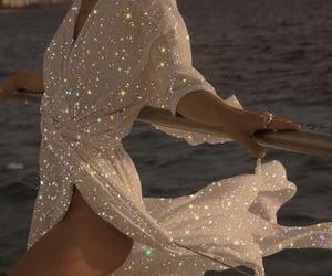 dress, fashion, and glitter image
