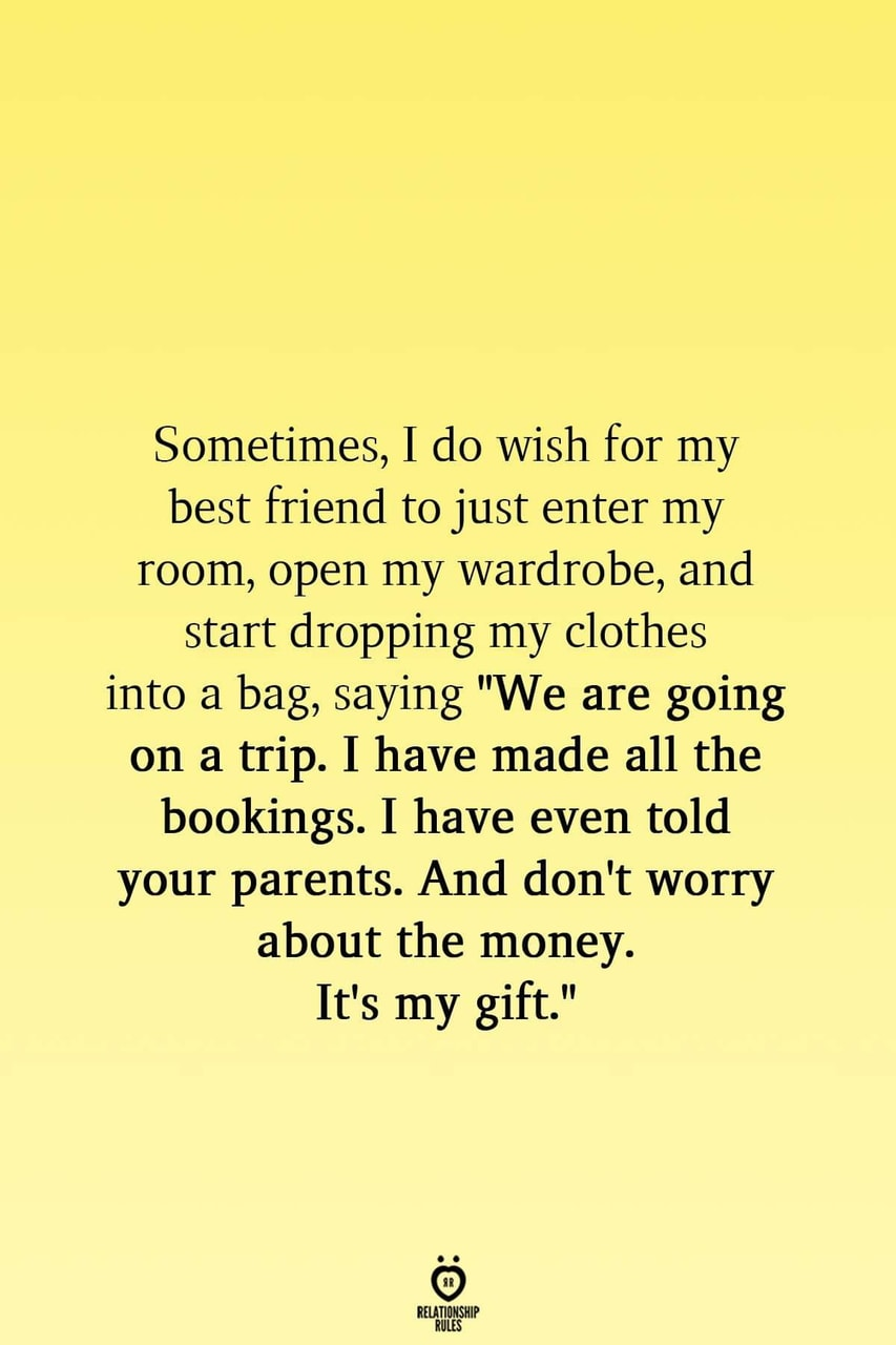best friend, packing, and quote image