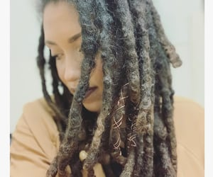 dreads, hair, and natural hair image