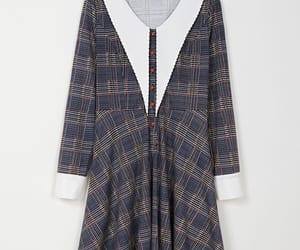 british, gray, and dress image