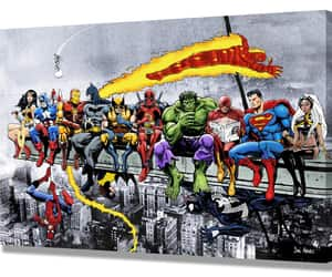 etsy, stanlee, and marvel wall art image