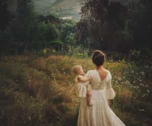 children, lace, and motherhood image