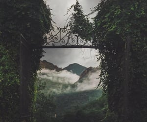fairy tale, road, and gate image