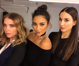 pretty little liars, shay mitchell, and ashley benson image