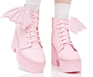 ankle boots, girls, and kawaii image