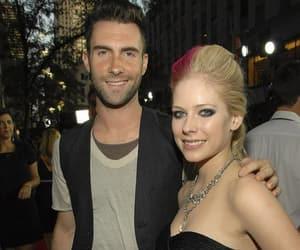 Avril Lavigne, maroon 5, and adam levine image