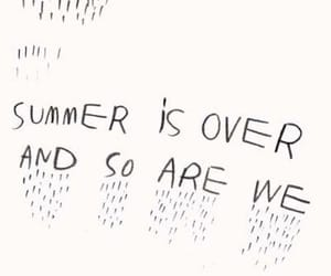 summer, quotes, and over image