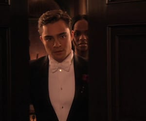 chuck bass, screencap, and ed westwick image