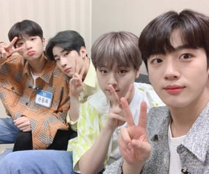 x1, yohan, and seungwoo image
