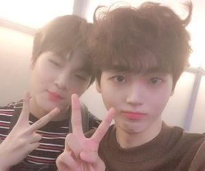 hyungjun, x1, and hyeongjun image