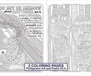 etsy, bible coloring pages, and seamless pattern image