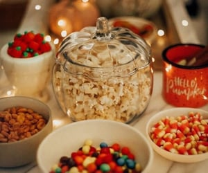 Halloween, candy, and cozy image