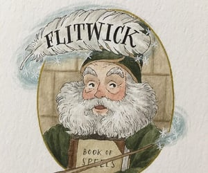 harrypotter, magic, and flitwick image