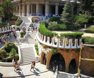 Barcelona, travel, and guell image