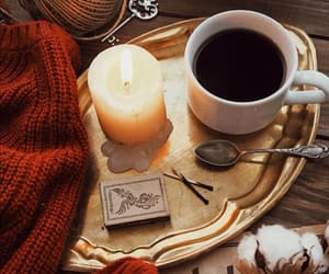 autumn, cafe, and cotton image