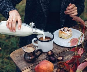 aesthetic, autumn, and coffee image