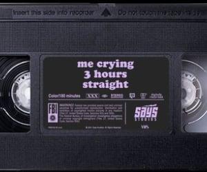 aesthetic, sad, and crying image