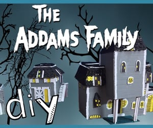 addams family, do it yourself, and Halloween image