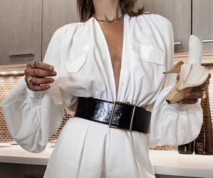 accessories, belt, and hair image