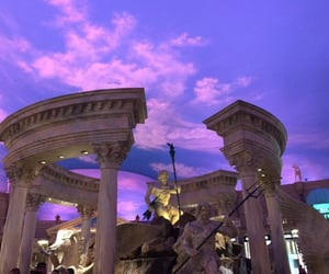 aesthetic, sky, and purple image