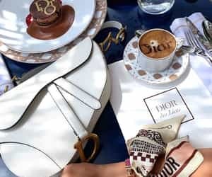 coffee, dior, and style image