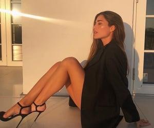 luxury, sunset, and woman image