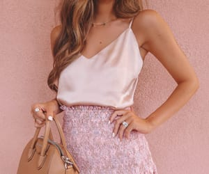 girls, pink, and blogger image