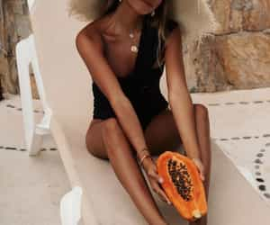 blogger, swimwear, and summer life image