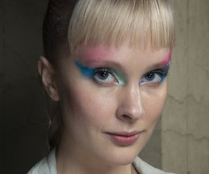 belleza, colores, and maquillaje image