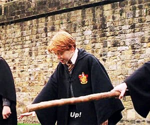 gif, harry potter, and ron weasley image