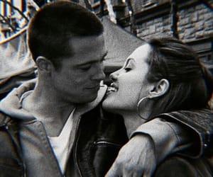 brad pitt, Angelina Jolie, and love image