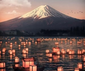 art, background, and japan image
