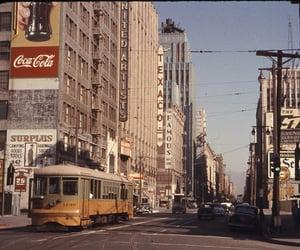 city, coca cola, and old school image