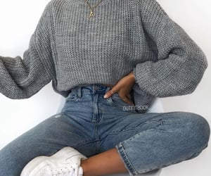girl, style, and ootd image