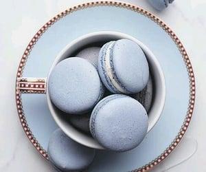aesthetic, soda, and macarons image