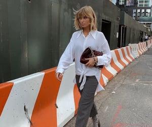 bangs, fashion week, and new york image