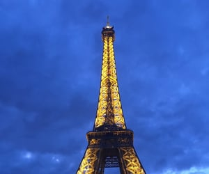 eiffel tower, france, and world image