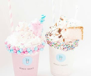 desserts, food, and glaces image