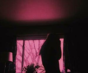 girl, aesthetic, and neon image