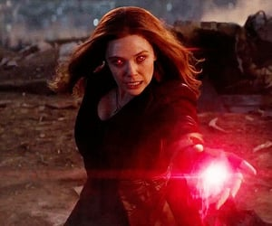 Avengers, fashion, and wanda maximoff image
